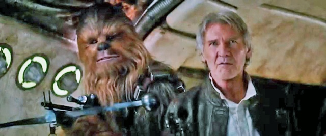 Chewy and Han Episode VII screencap