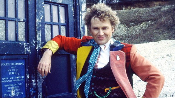 Colin Baker Doctor Who TARDIS