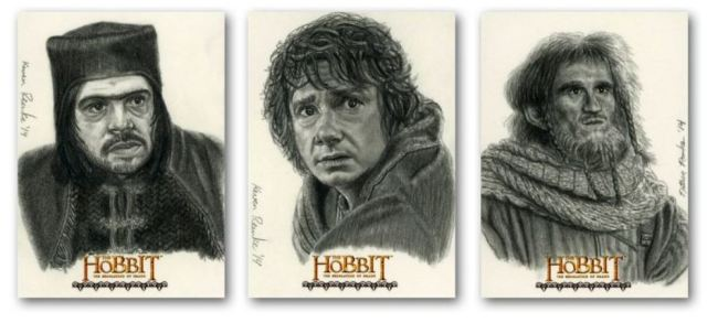 Crytozoic Hobbit Desolation of Smaug insert cards