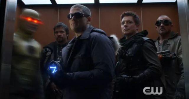 CW villains DC