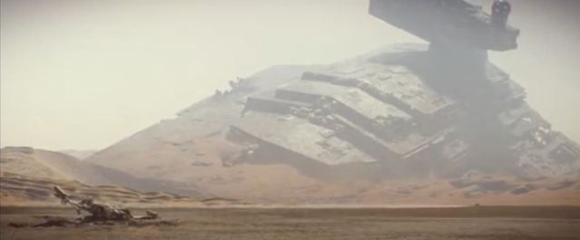 downed Star Destroyer