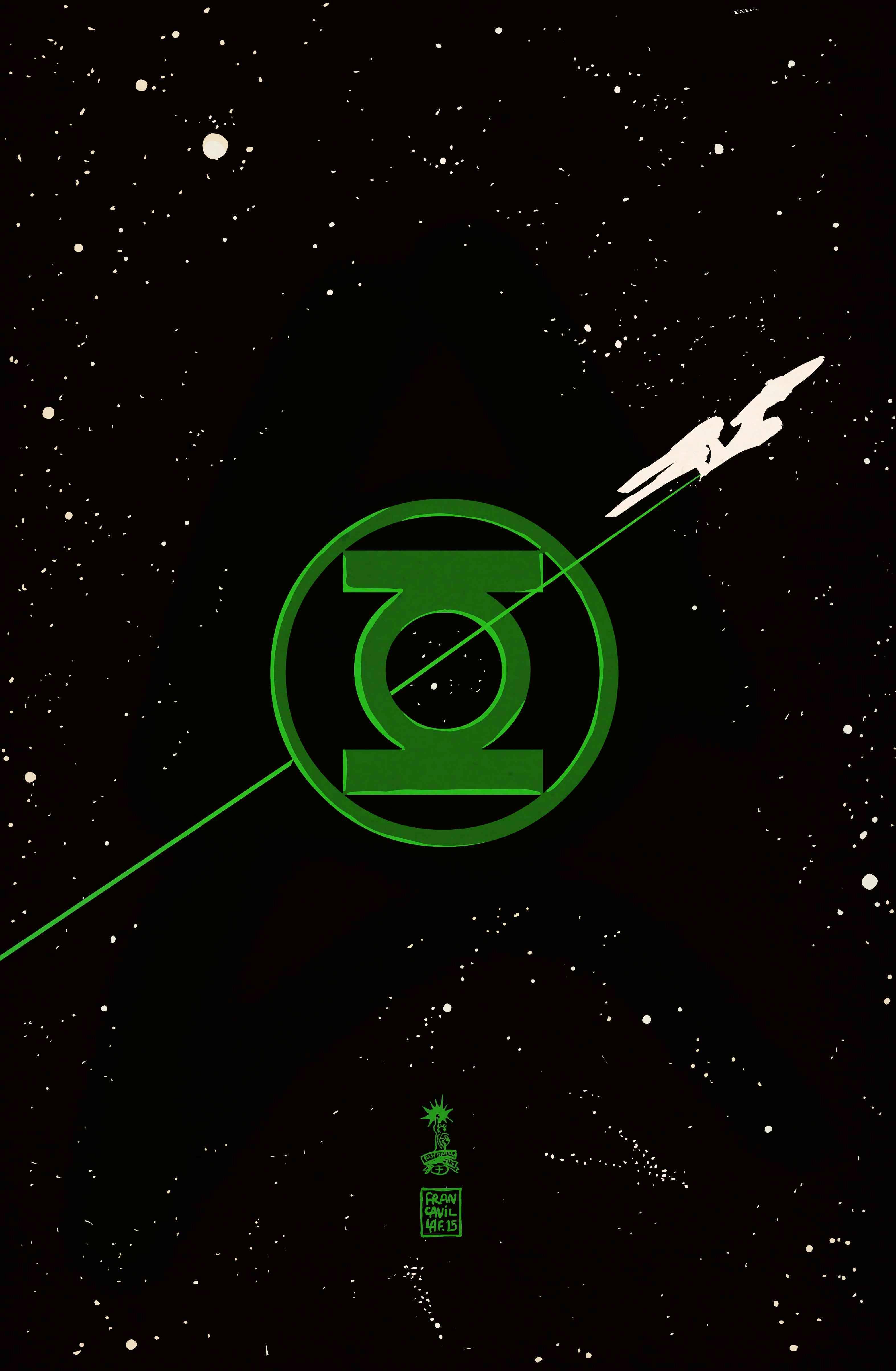 Captain Kirk's crew to encounter Green Lantern Hal Jordan in