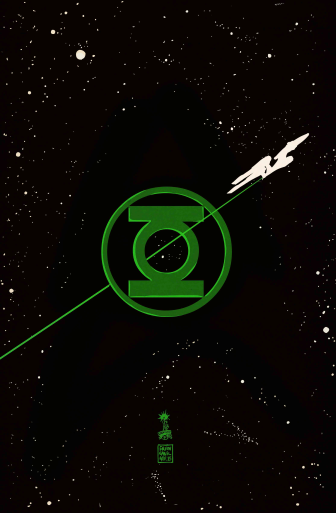 Green Lantern Star Trek The Spectrum War Francesco Francavilla