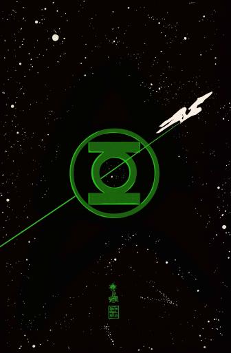 Green Lantern Star Trek The Spectrum War Francesco Francavilla