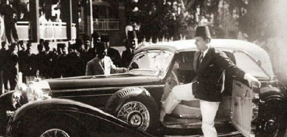 King Farouk of Egypt 1938