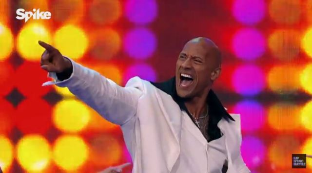 Lip Sync Battle Dwayne Johnson The Rock