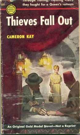 Original cover of Thieves Fall Out Gore Vidal as Cameron Kay