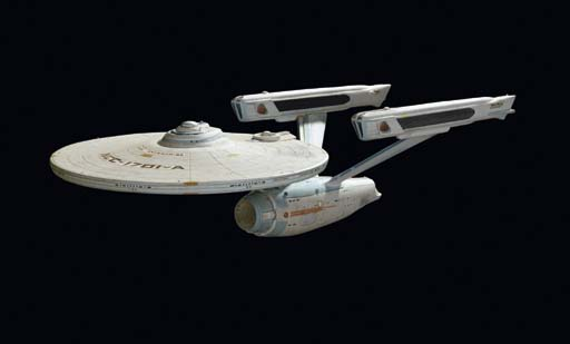 22 inch Enterprise model from films