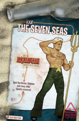 Aquaman bombshells variant