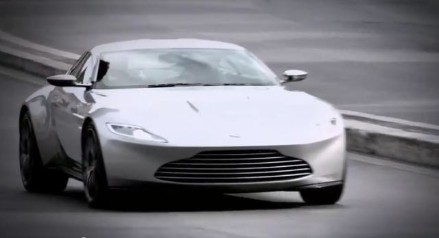 Aston Martin from SPECTRE
