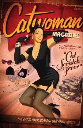 Catwoman Bombshells variant