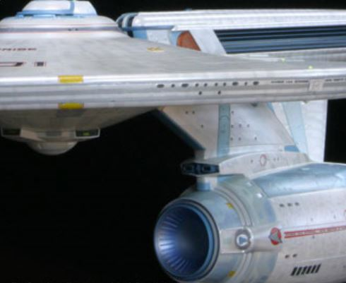 Your next project–Polar Lights' giant 1/350 scale Enterprise