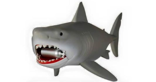 Funko Reaction Jaws Great White shark