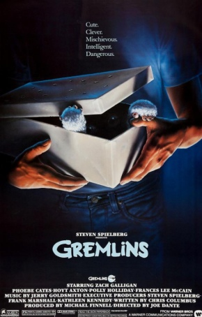 Gremlins movie poster original