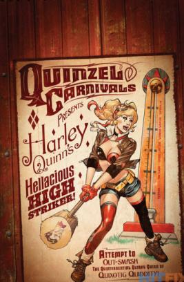 HarleyQuinn Bombshells variant