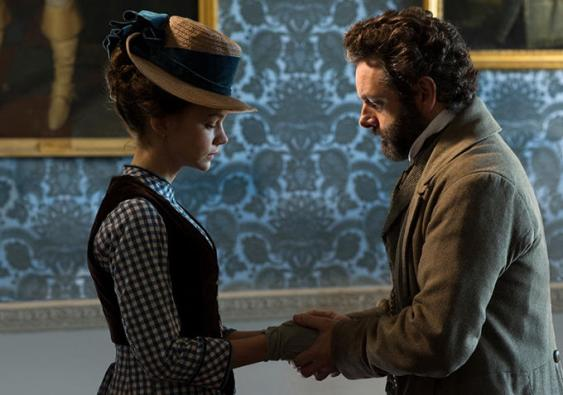 Michael Sheen and Carey Mulligan Far From the Madding Crowd
