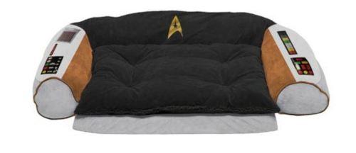 Original series Star Trek command chair dog bed Entertainment Earth