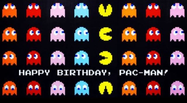 Pac-Man 35 birthday