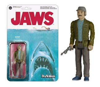 Quint Jaws Funko Reaction action figure