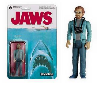 Reaction Funko Jaws Hoooper Richard Dreyfuss
