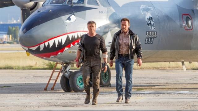 Stallone and Schwarzenegger