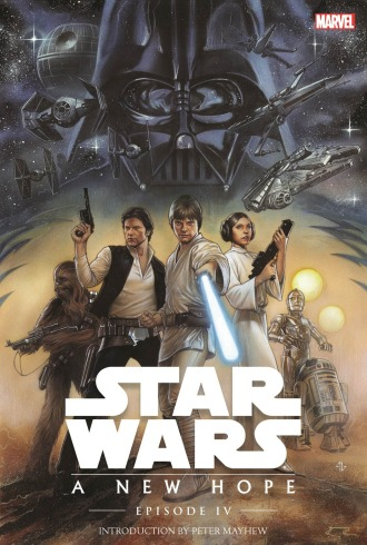 Star Wars OGN cover