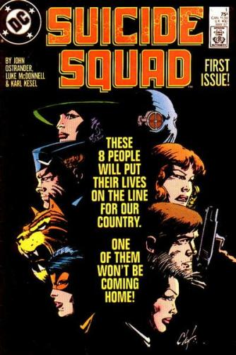 Suicide Squad issue 1 Chaykin cover