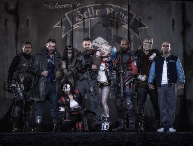 suicide squad movie cast photo 2015 will smith Kinnaman jai courtenay