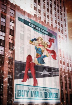 Supergirl Bombshells variant