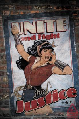 Wonder Woman Bombshells variant