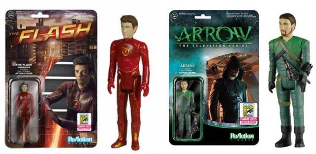 CW Funko SDCC 2015 exclusives Arrow Flash