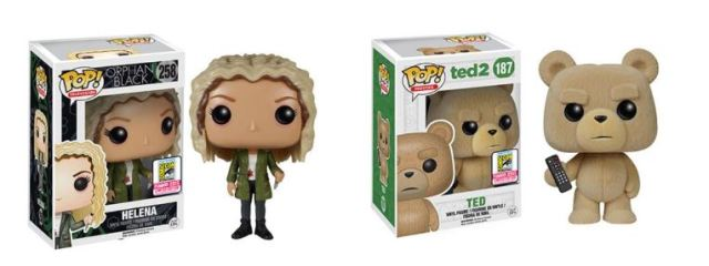 Funko Pop SDCC 2015 exclusives