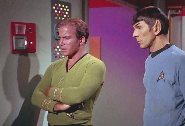 Kirk Spock intercom