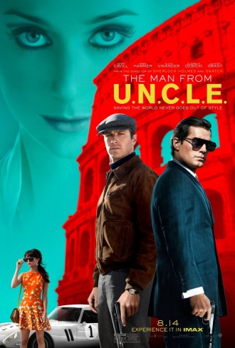 Man from UNCLE movie poster 2