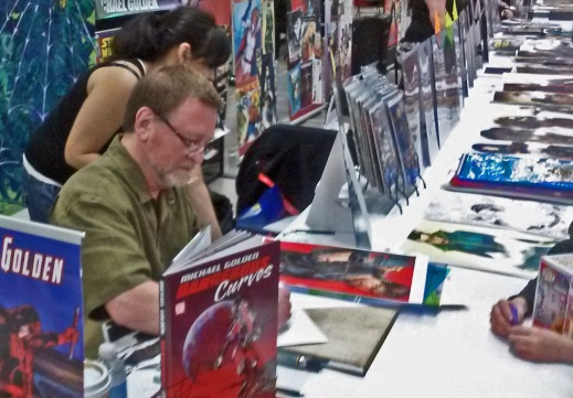 Michael Golden Wizard World Des Moines 2015