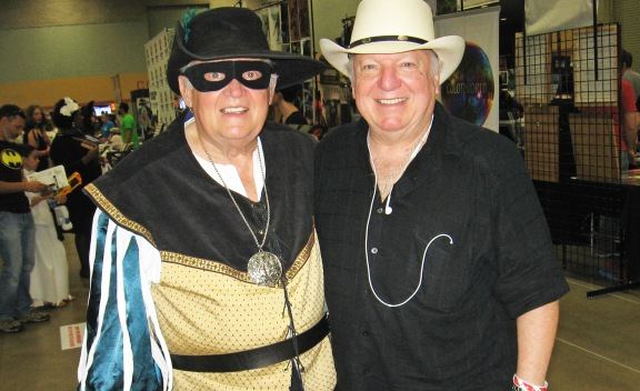 Milton Bunce Mike Grell Wizard World Des Moines 2015 Zorro