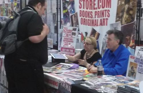 Neal Adams Wizard World Des Moines 2015