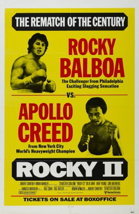 Rocky II 1979 movie poster