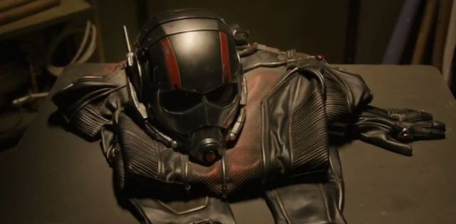 Ant-Man costume from clip 2015