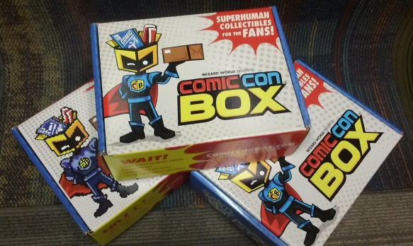 Comic Con Box display