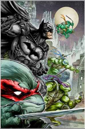 Freddie Williams Batman TMNT SDCC 2015