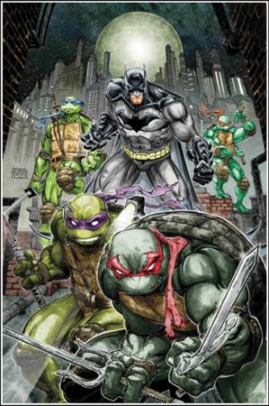 Freddie Williams II Batman TMNT Comic-Con 2015