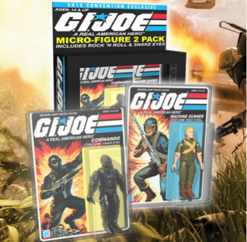 GI Joe two-pack SDCC 2015 Gentle Giant