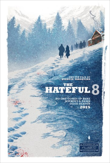 Hateful Eight comic-Con SDCC 2015 poster Tarentino