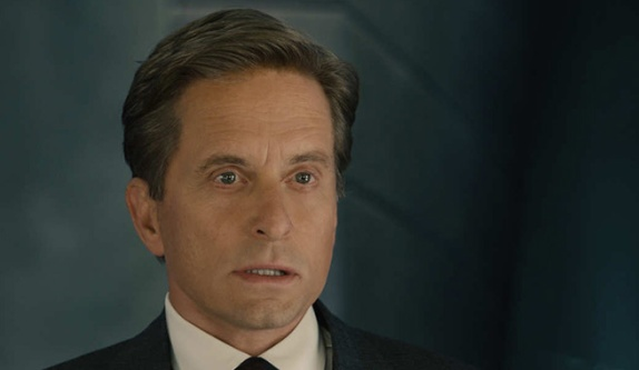 Michael Douglas looking 25 years younger in Ant-Man