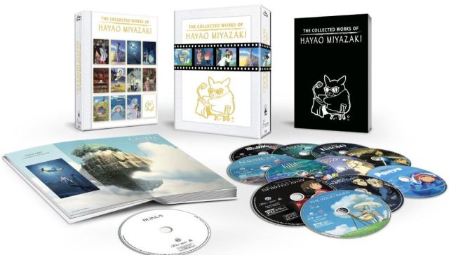 Miyazaki collection Blu-ray boxed set 2015