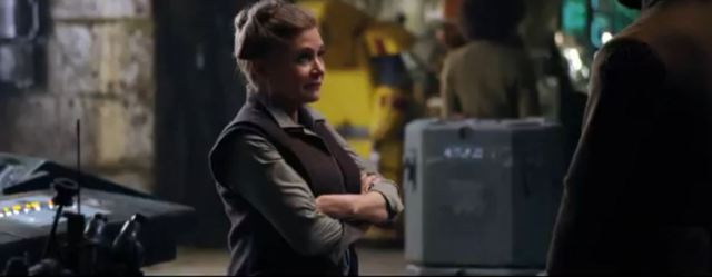 Star Wars Carrie Fisher Princess Leia SDCC 2015 preview