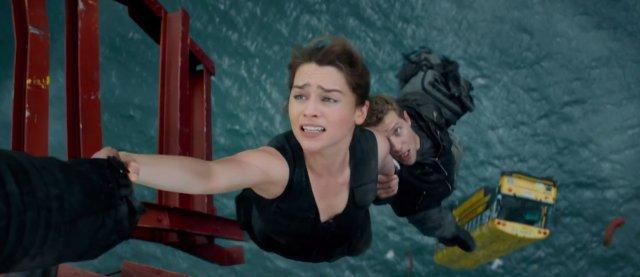 Terminator Genisys Emilia Clarke Jai Courtney