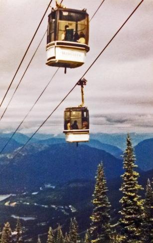 Whistler gondola CJ Bunce 1998