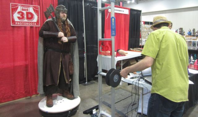 3D Photobooth Gimli Jo Kamm KCCC 2015 Kansas City Comic Con